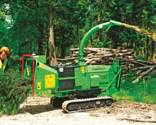 дробление древесины